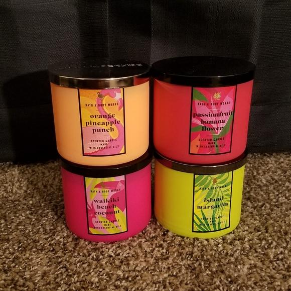 tropical candle bundle (4)